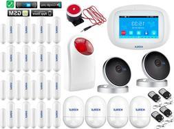 J80 KERUI WIFI APP GSM Wireless Home Security Alarm Burglar