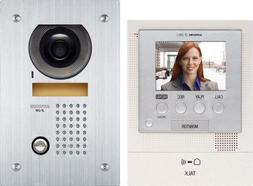 Aiphone JFS-2AEDF Audio/Video Intercom System with Flush-Mou
