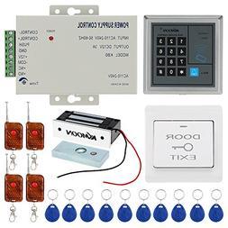 Keypad Door Access System, KKmoon DC12V 125KHz Door Entry Ac