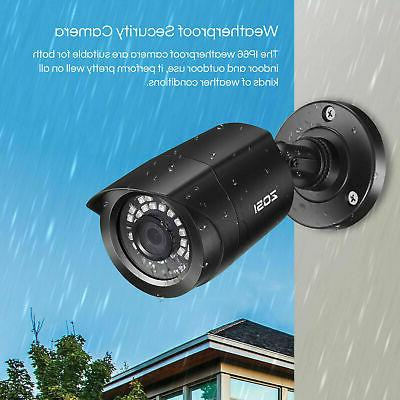 ZOSI 8 Channel Lite Outdoor Security Camera System