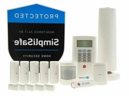 10 piece wireless home security system 2nd