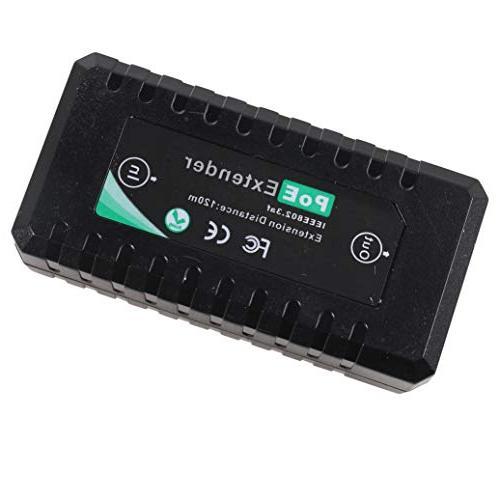 2x 1 Port 10//100M PoE Extender IEEE802.3af For Ethernet Security IP Camera
