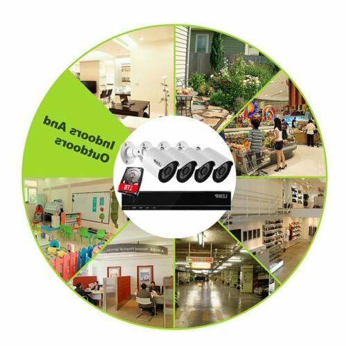 1080N AHD CCTV House Camera + 4 X Bullet Camera
