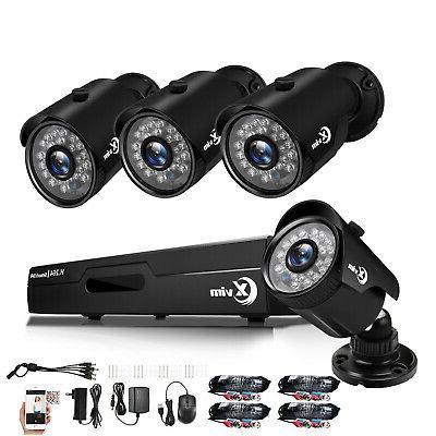 1080p 4ch hdmi dvr 720p indoor outdoor