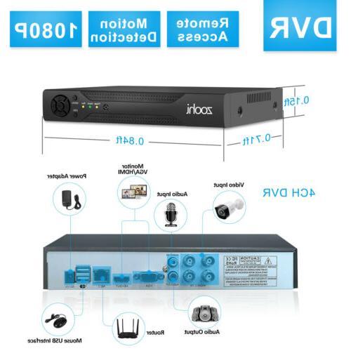 Zoohi 4/8CH HDMI