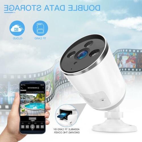 1080P WiFi Surveillance Camera Night Vision
