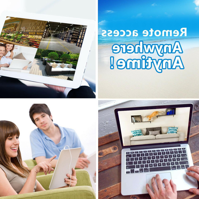 XVIM HDMI CCTV IR Night Security Camera System 1TB