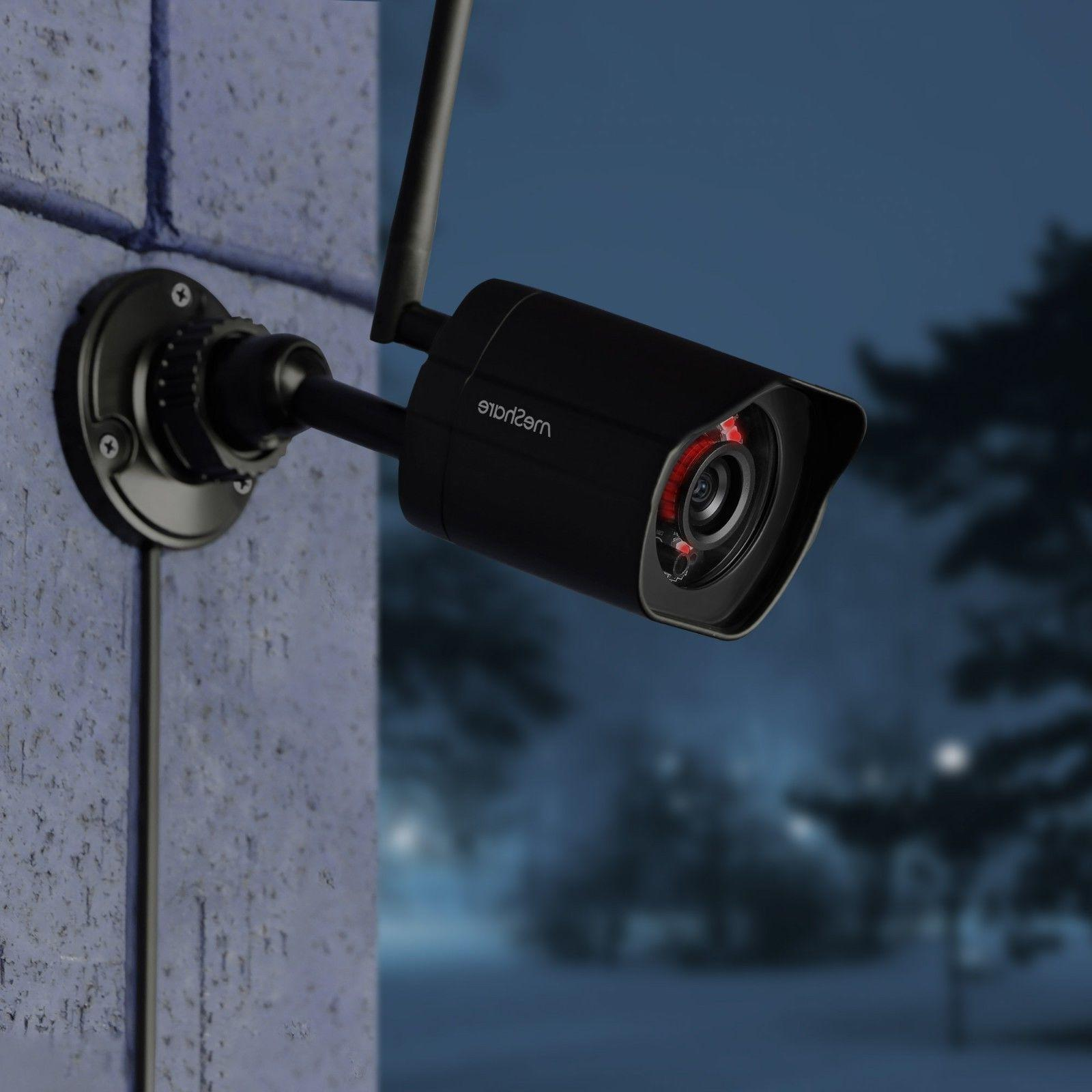 meShare 1080p Security Camera Pack Smart Detection