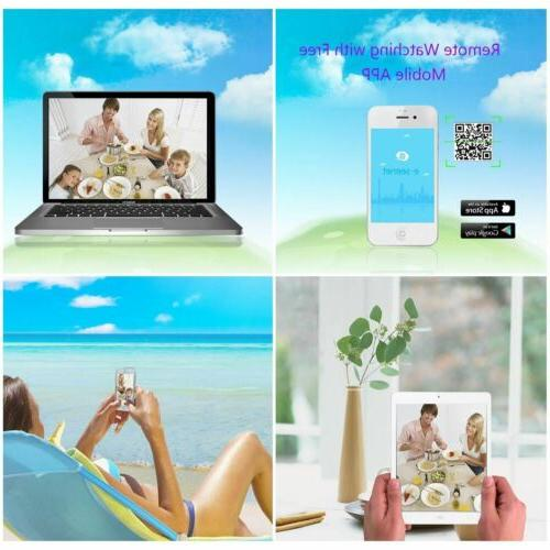 1080p Full HD Wireless Security Outdoor