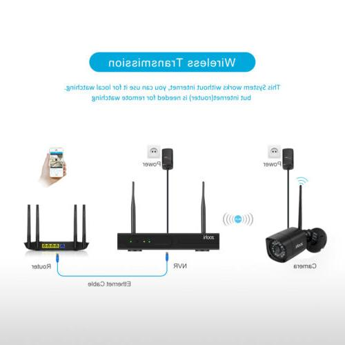 1080p Wireless Camera Outdoor 8CH HDMI