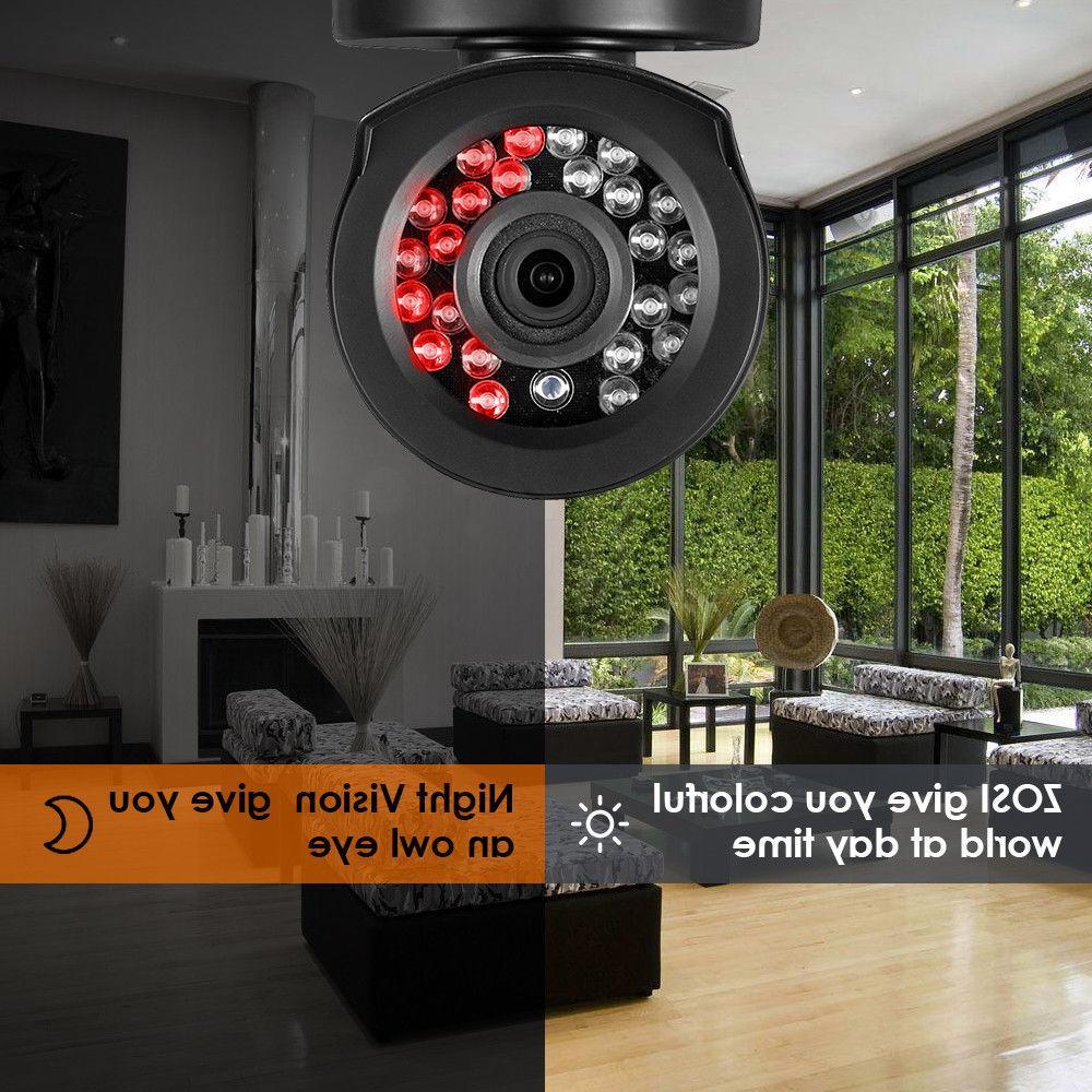 ZOSI 16CH DVR 1080P Home Surveillance Security Camera