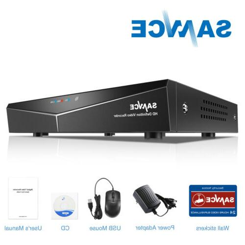 SANNCE H.264 16CH 5in1 1080P HDMI DVR Video Recorder Securit