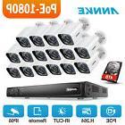 ANNKE 16CH 6MP HD NVR POE 1080P Video IR Night Vision IP Cam