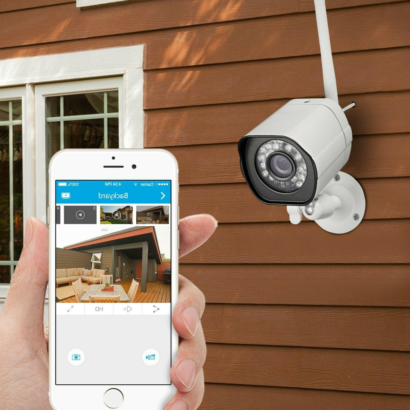 Zmodo HD WiFi Home Camera System