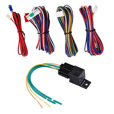 2-Way Vehicle Alarm System Start Protection Security