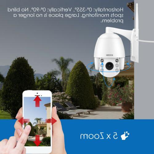 ZOSI Wireless IP Camera PTZ Way