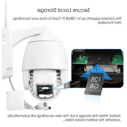 ZOSI Wireless IP PTZ Way