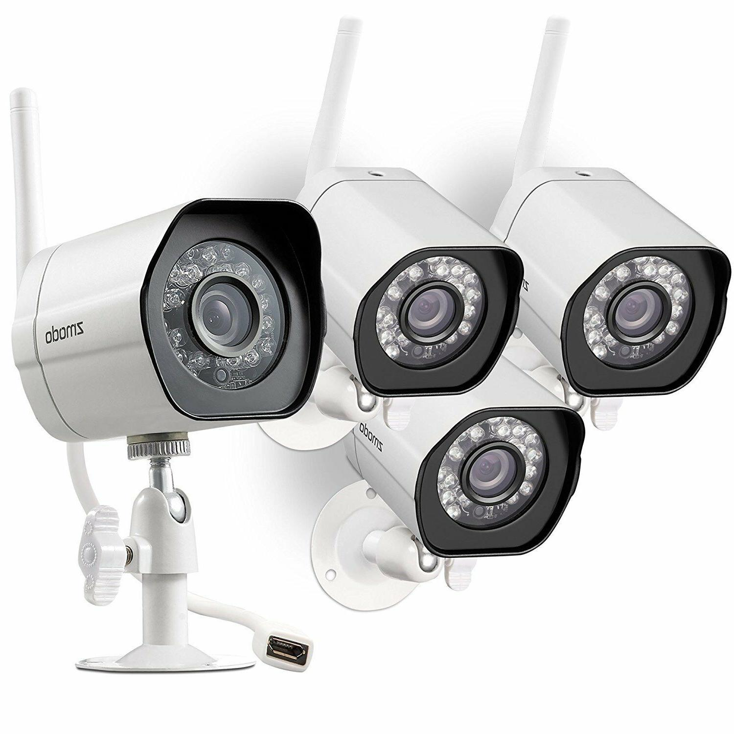 Zmodo 720P Samrt IP Outdoor Network Security Camera w/ Night Vision Clearance