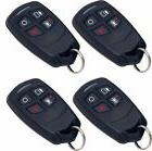 4 Honeywell Ademco 5834-4 Four-Button Wireless Key Remotes
