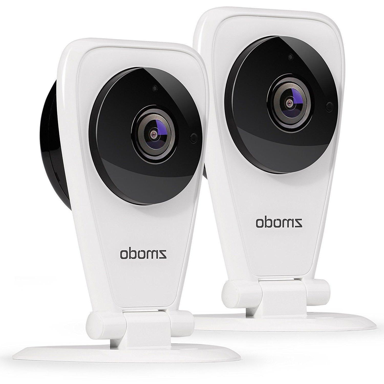 Zmodo 2-Pack EZCam 720p HD IP WiFi Wireless Surveillance Cam