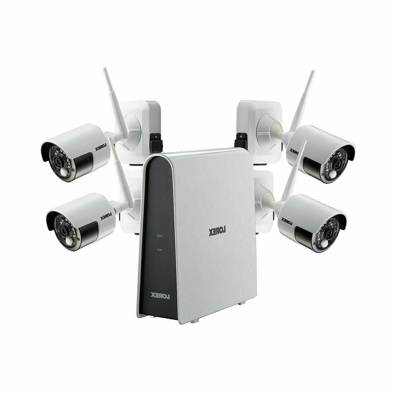 Lorex 4 Camera 1080p Hd Wire