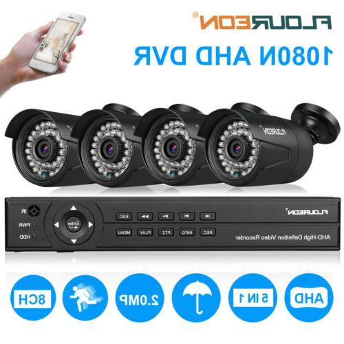 1TB, 1080N AHD IR Video Home Security