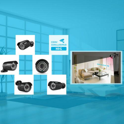 1TB, AHD IR Security Camera