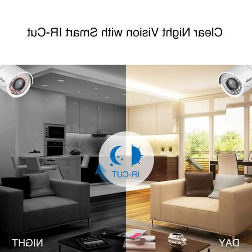 SANNCE 4CH DVR HDMI White NO 1T