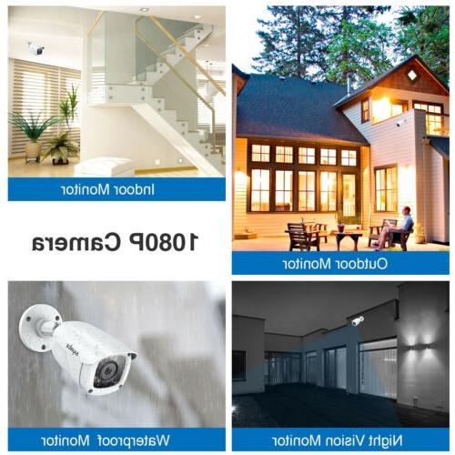 SANNCE DVR 3000TVL CCTV Security
