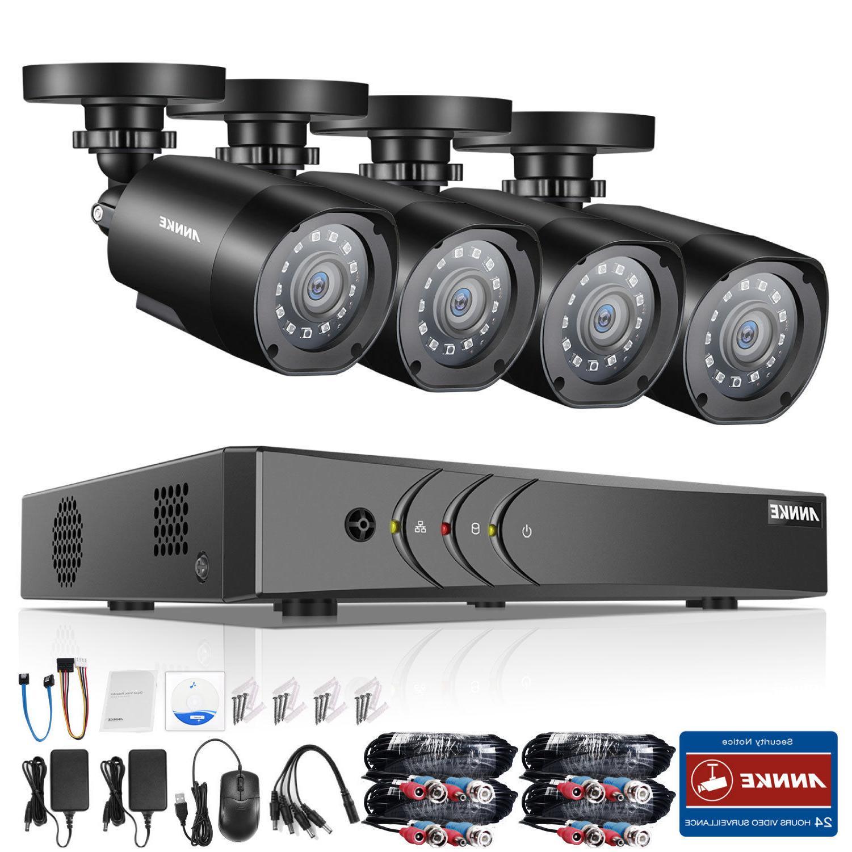 ANNKE H.264+ Lite DVR 2MP Security System Day