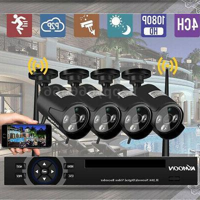 KKmoon NVR Camera Security Vision