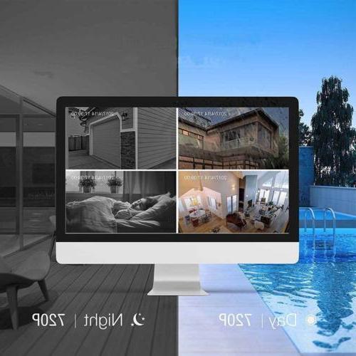 Xtech NVR Outdoor indoor Camera CCTV Kit
