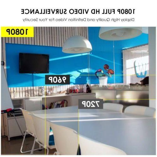 Xtech 4CH Wireless NVR indoor Camera CCTV Kit