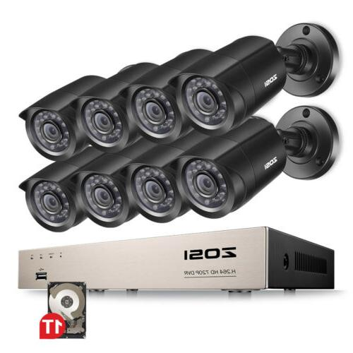 ZOSI 8CH HDMI Surveillance 1TB