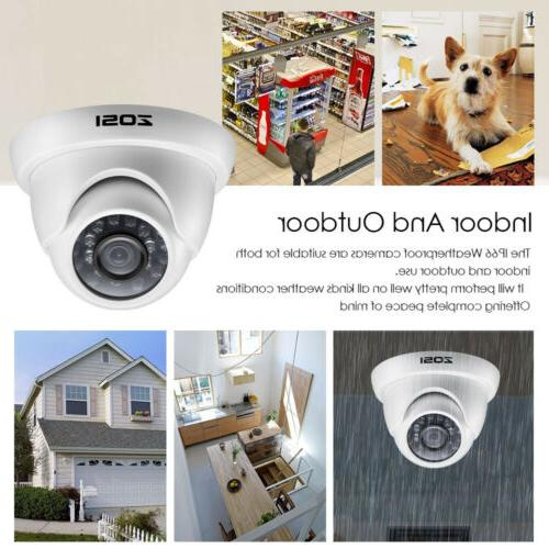 ZOSI 8CH 1080p 2MP Camera System with Drive 1TB