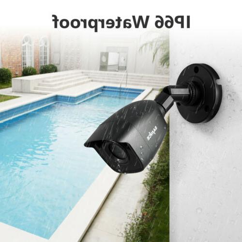 SANNCE 4CH 8CH 1080P TVI 3000TVL Outdoor 2MP IR Camera