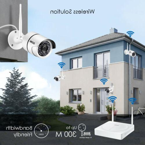 4 Channel 1080P Security System HDD 2MP IP