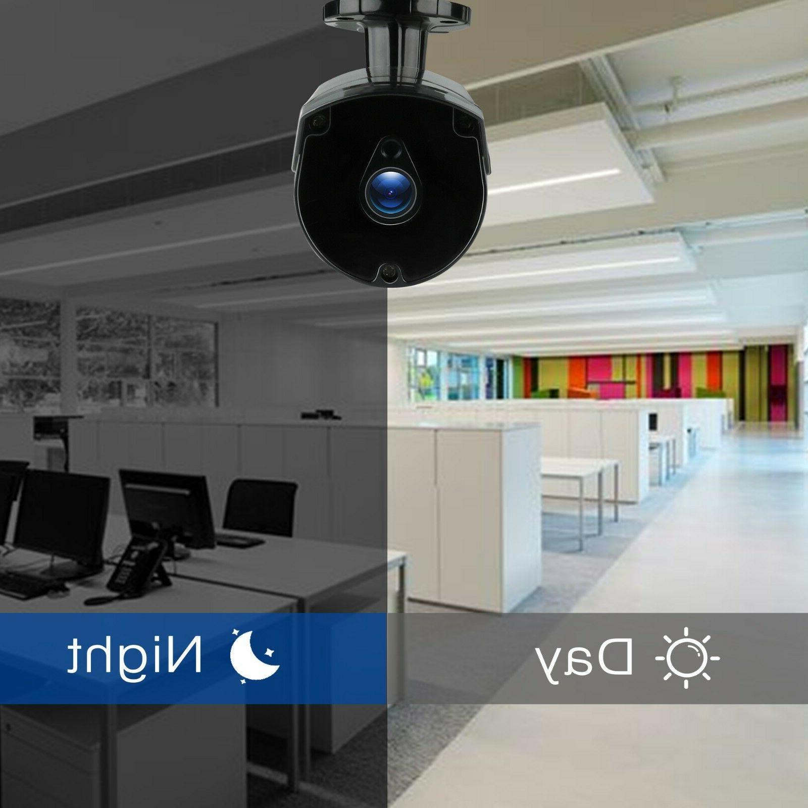 TMEZON 4CH NVR CCTV Outdoor Security Kit