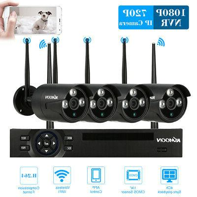 KKmoon 4CH NVR 720P Security System Vision