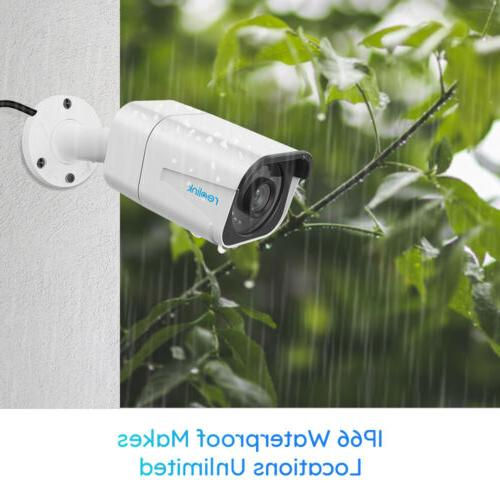 4K 8MP Camera System 8CH NVR Recording RLK8-800B4