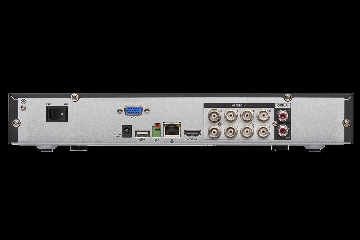 Lorex DV9082 Channel Bullet 4xLEV2712 Dome Camera