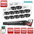 ANNKE 4TB 12x 1080P ROI Dome Camera 16CH Network 6MP NVR POE