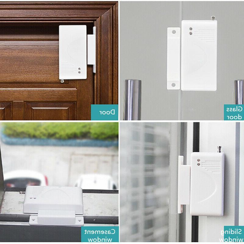 4X Security Alarm System Magnet Door