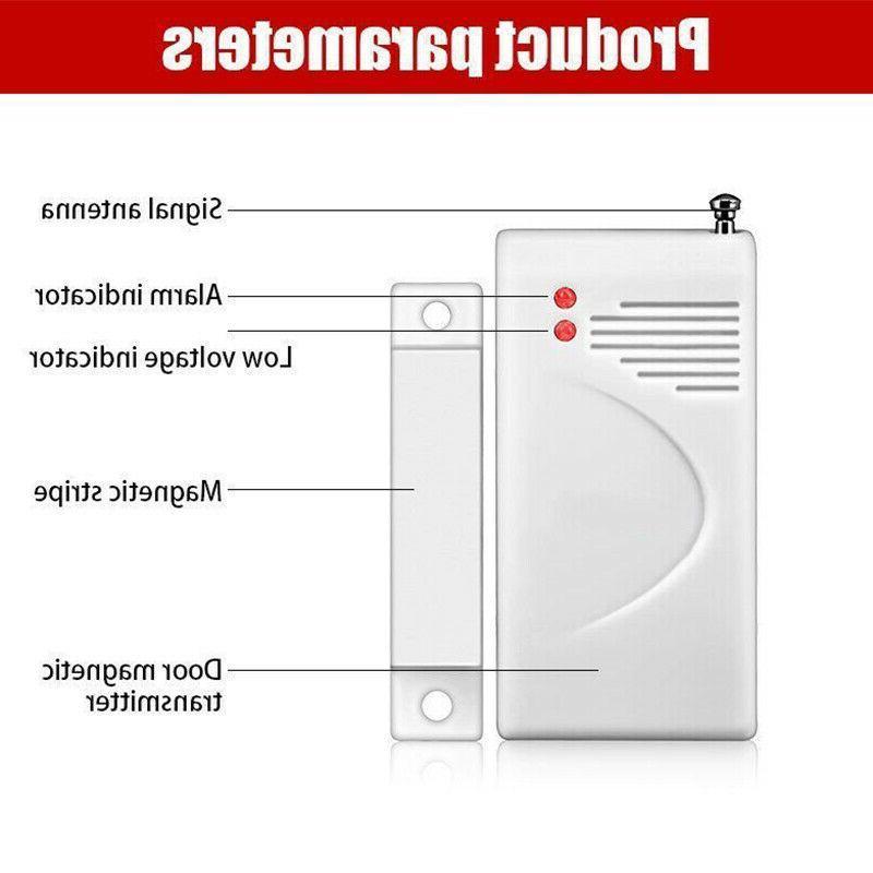 4X 433Mhz Door Wireless