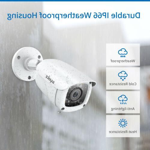 SANNCE DVR 1080P Video Camera System Vision