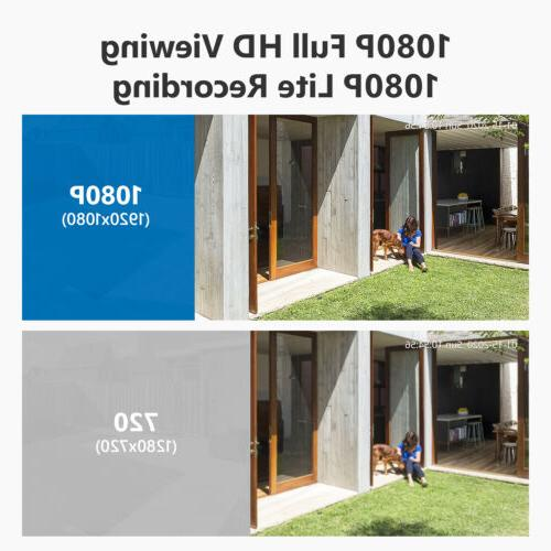 SANNCE H.264+ Outdoor Video CCTV Onvif
