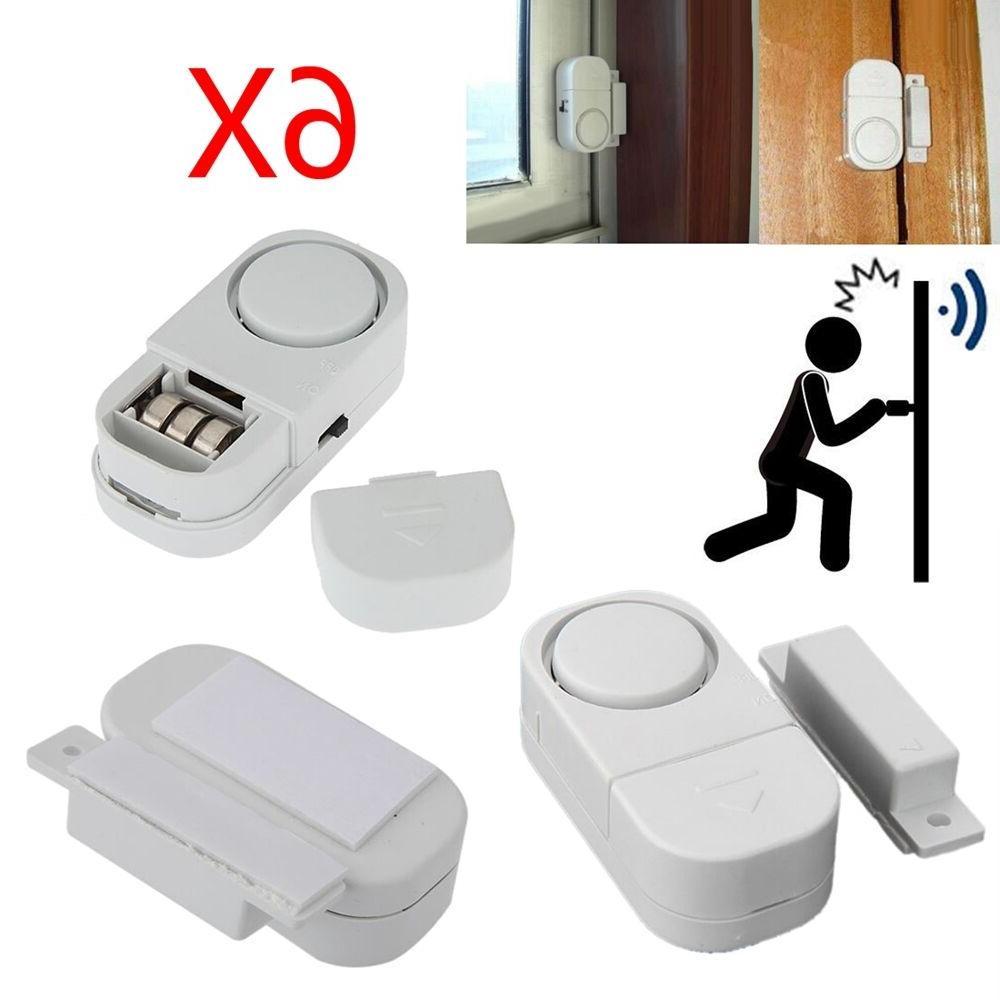6 x wireless home window door burglar