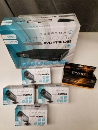 720p 8ch video security system brand new