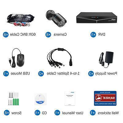 SANNCE TVI Video Security