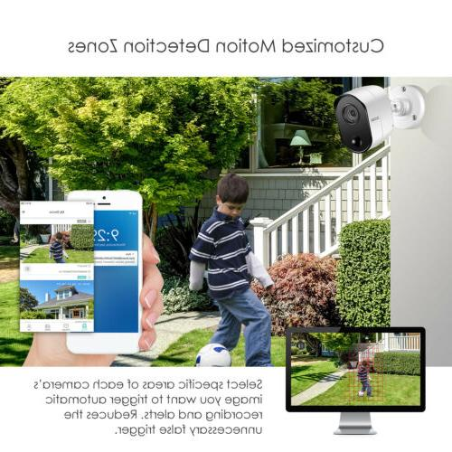 8 1080P 720p Outdoor Security System